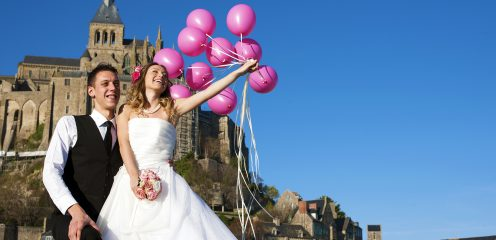 Mont Saint Michel Photo Weddding