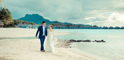 @ The St.Regis Bora Bora Resort / TAHITI