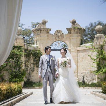 WEDDING REPORT@ Palazzo Parisio/ Malta